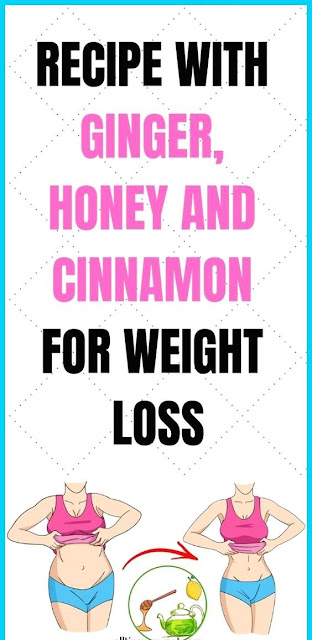 Recipe With Ginger, Honey And Cinnamon For Weight Loss