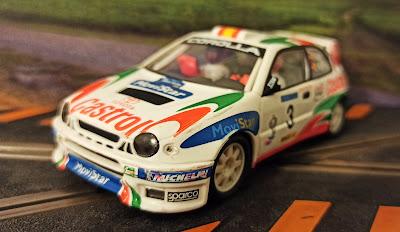 Toyota Corolla WRC Costa Brava 1999 Scalextric