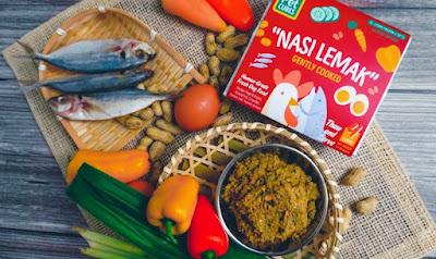 Nasi lemak khusus anjing peliharaan