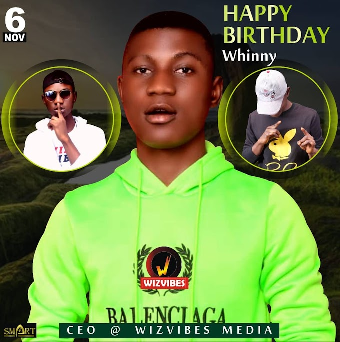 Birthday Splash As Wizvibes CEO Turn +1 Today .Click To Send him Your Wishes