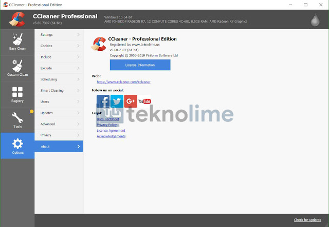 CCleaner Pro 5.60 Full Version