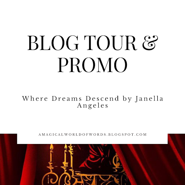 Blog Tour Promo: WHERE DREAMS DESCEND - by Janella Angeles