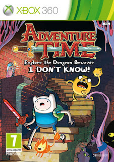 Adventure Time Explore the Dungeon Because I Don't Know (XBOX360)