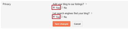 how to get your blog on search engines