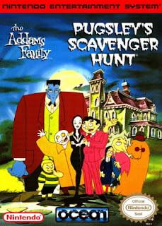 Jogo The Addams Family Pugsleys Scavenger Hunt Snes