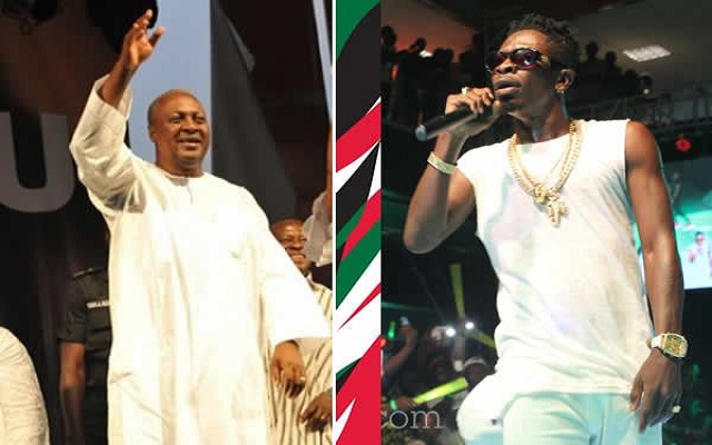 Mahama has refused to pick my calls since he lost 2016 election – Shatta Wale