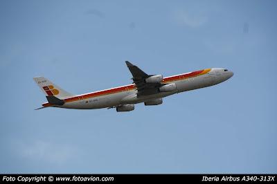 Airbus A340 Beatriz Galindo