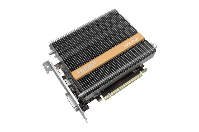 Card đồ họa GTX 1050 Ti KalmX của Palit, không quạt không tiếng ồn