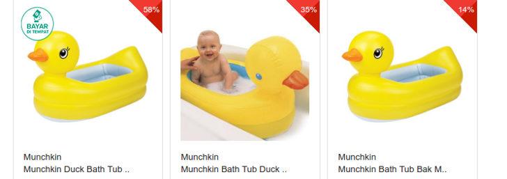 bathtub-bentuk-bebek-lucu