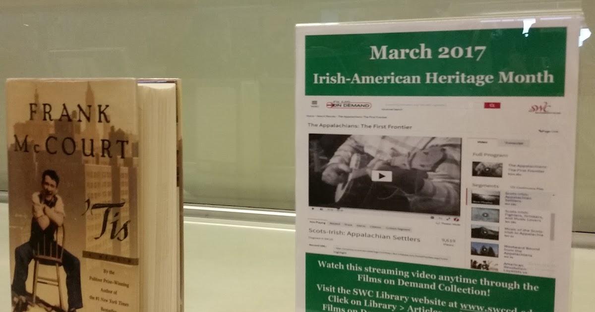 irish american heritage month