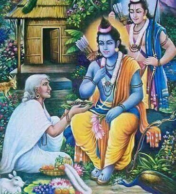 What message does life of Lord Rama and Ramayana convey