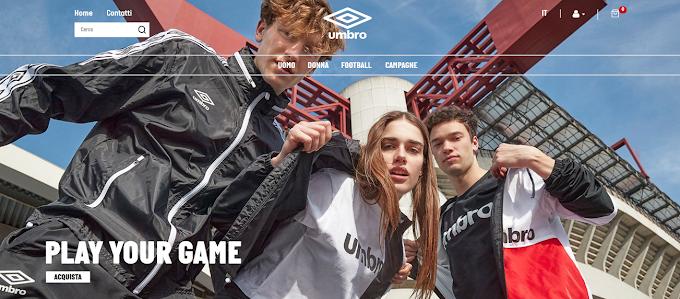Moda: Umbro Italia pronto al lancio dell'e-commerce
