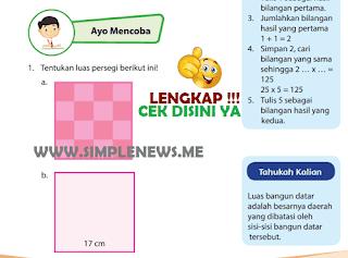 Kunci Jawaban Halaman 130 132 Kelas 4 Senang Belajar Matematika Kurikulum 2013 www.simplenews.me