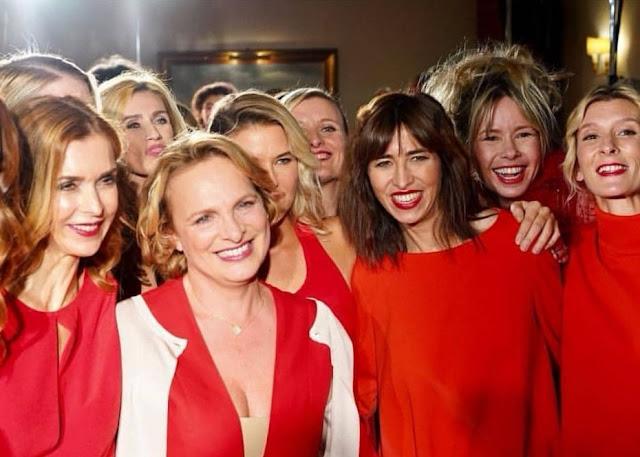 Red Défilé 2018 avec Isabelle Weill