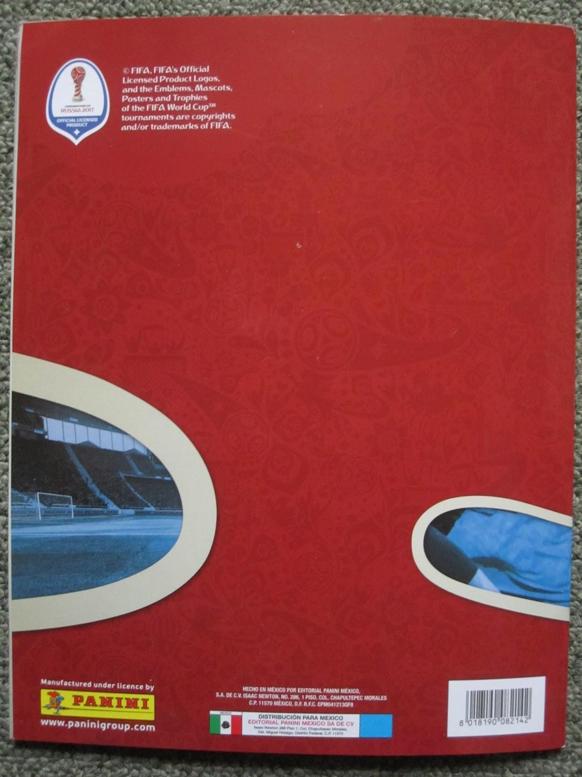 PANINI-Confédérations Cup 2017-Sticker 26-Russie-Logo