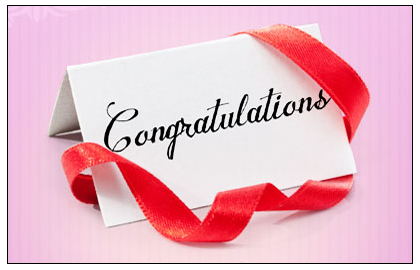 Our Hearty Congratulations for Successful Candidates