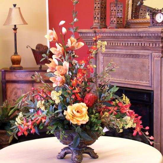 Flower Decoration In Home: Home Decor Flower Arrangements