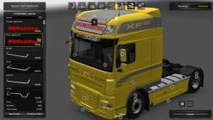 New Accessory for DAF XF by SCS