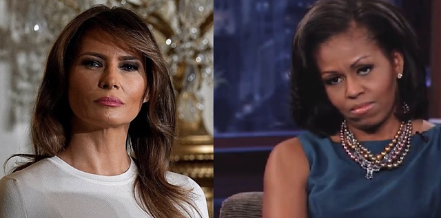 "Ouch! Piers Morgan RIPS Michelle Obama over her ""Bitchy Sniping at Melania"""