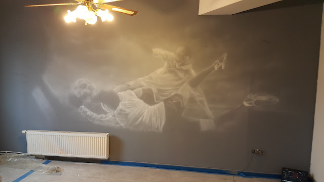 Malowanie na ścianie obrazu w Pubie, inspiracje