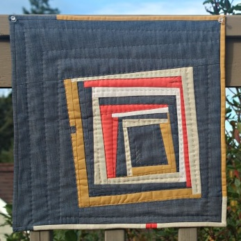 Inspiration blog post series - Hewn quilt by Debbie Jeske