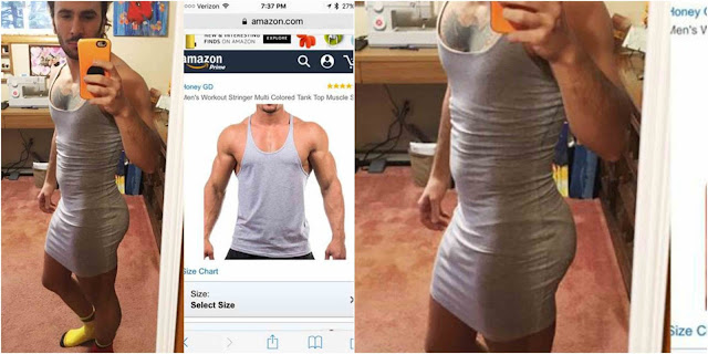 See what guy got after he ordered for tank top