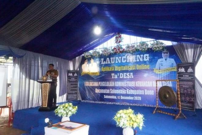 Keren! Salomekko Launching Aplikasi Ta' Desa l, Apa itu?