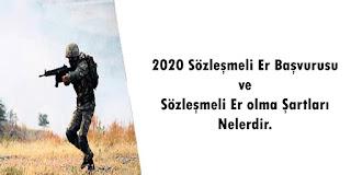 2020 sözleşmeli er alımı