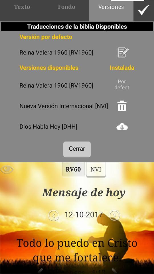 La Santa Biblia 3D para PCCelularesTabletas Espaol  Ingls