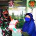 Koramil 1110/Benyuresmi, Garut Salurkan Bantuan Beras 2,5 Ton dan 3.000 Masker