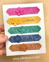 Stampin' Creative Global Blog Hop: 2020-2022 In Color Lovely You Card #stampinup ~ www.juliedavison.com