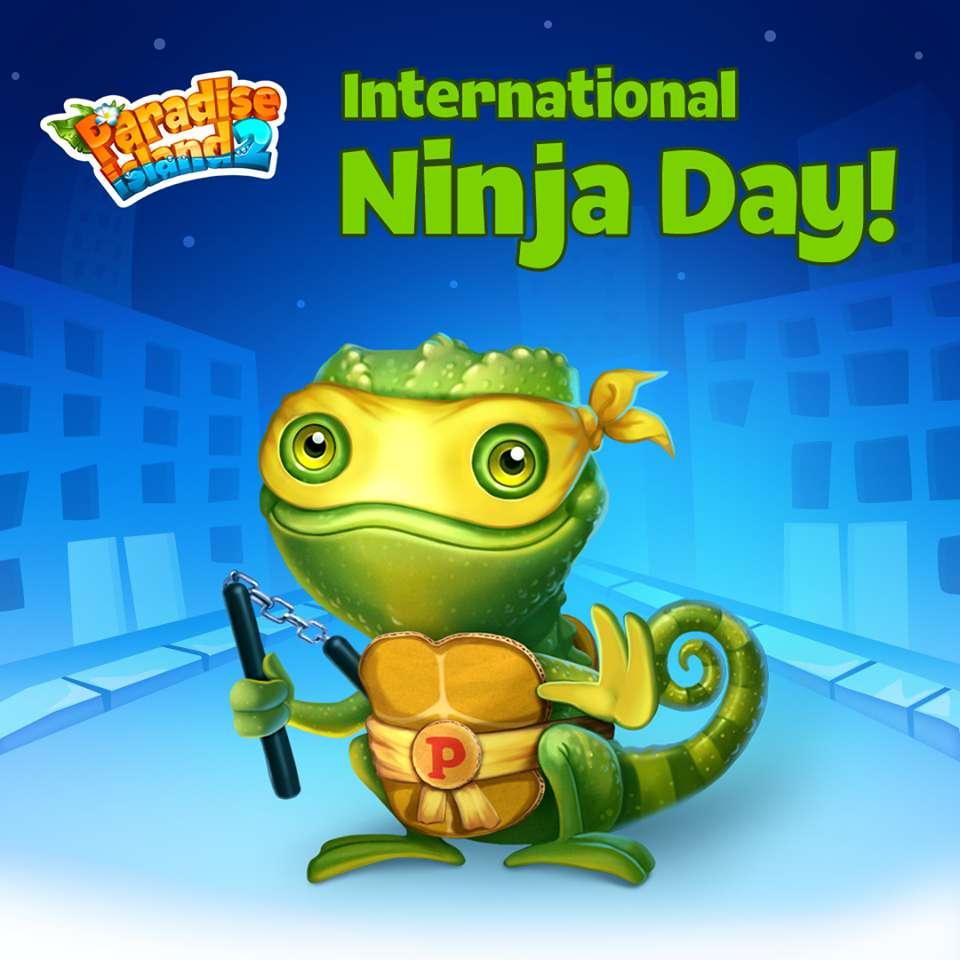 International Ninja Day Wishes Beautiful Image