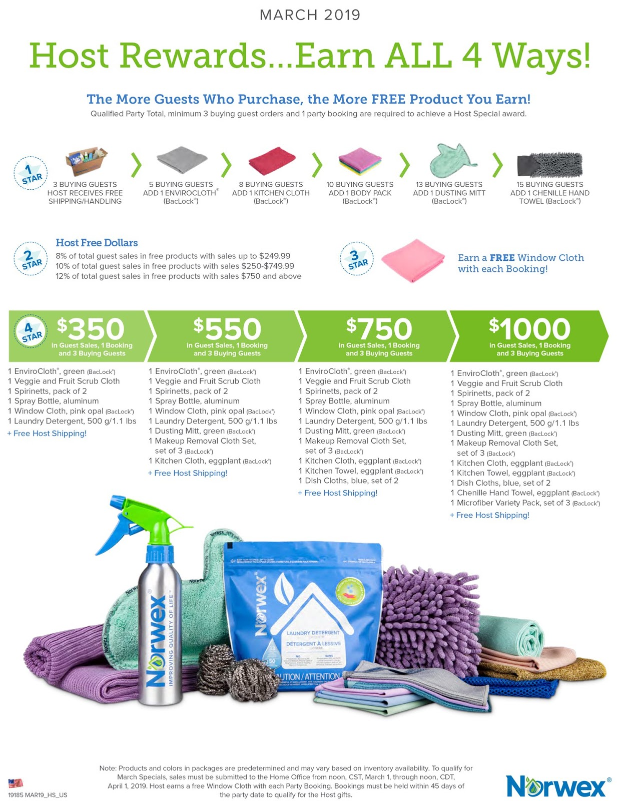 Rebecca Lange Norwex Independent Sales Consultant March 2019