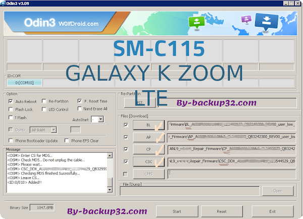 سوفت وير هاتف GALAXY K ZOOM LTE موديل SM-C115 روم الاصلاح 4 ملفات تحميل مباشر