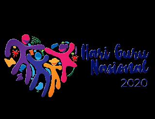 logo hari guru nasional png hd