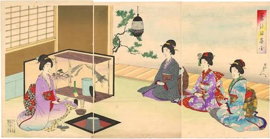 Upacara minum teh di Jepang