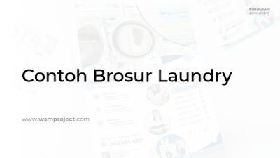 Brosur Laundry
