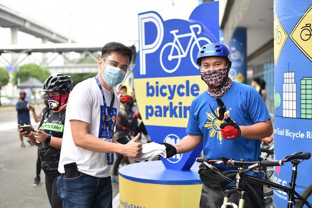 bike-friendly SM Supermalls