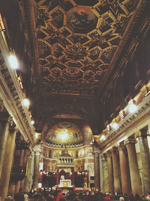 Church of Santa Maria in Trastevere, Rome, Italy