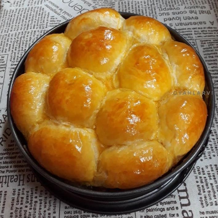 resepi roti manis  mudah  lembut  gebu perkongsian  dyahlarvin Resepi Roti Farina Enak dan Mudah