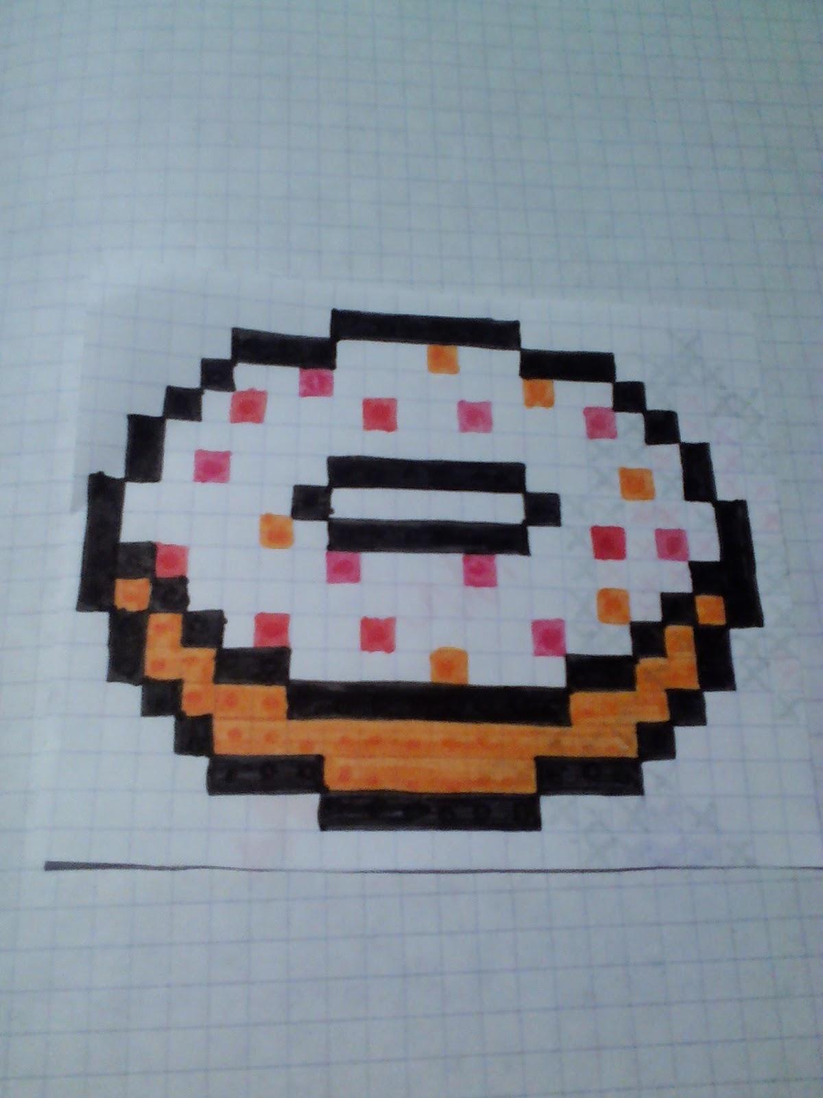 C Et S Les Petites Astuces Donut En Pixel Art