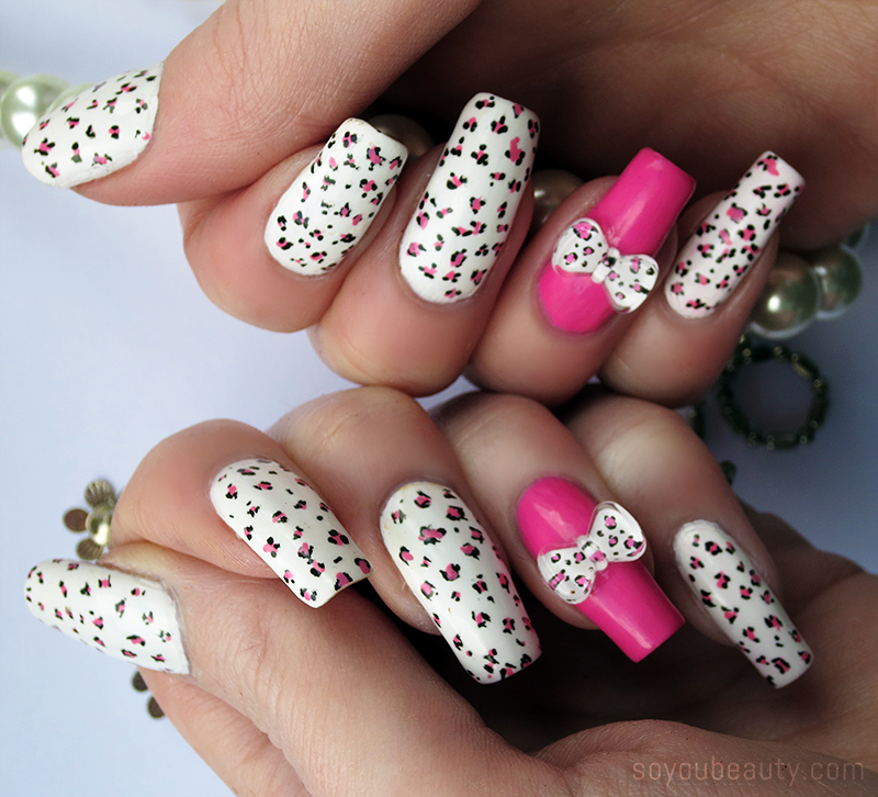 3d bow nails monday july 10 2017 prinsesfo Image collections