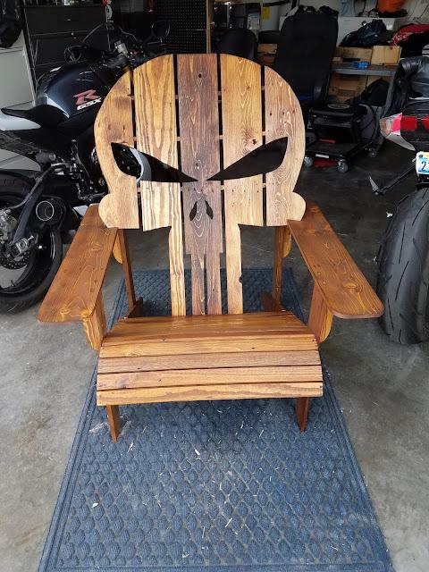 punisher chair