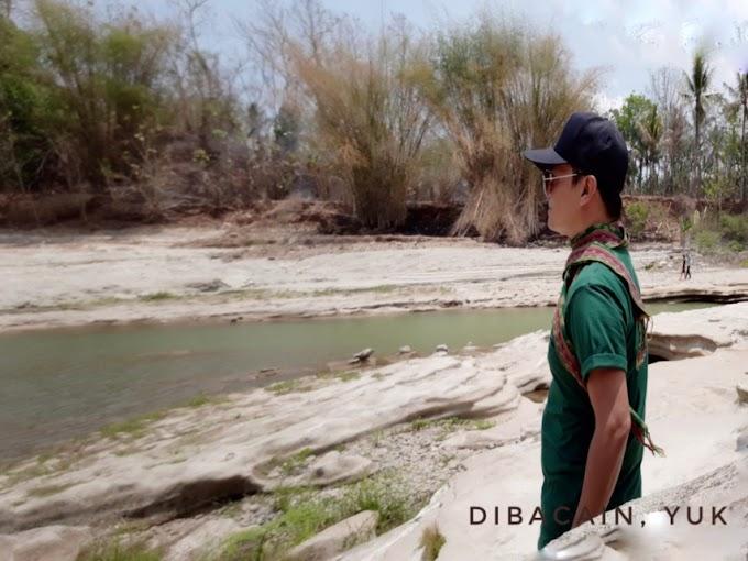 Bentangan Formasi Bebatuan Eksotik Kali Bogowonto Purworejo