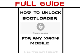 How to unlock Bootloader