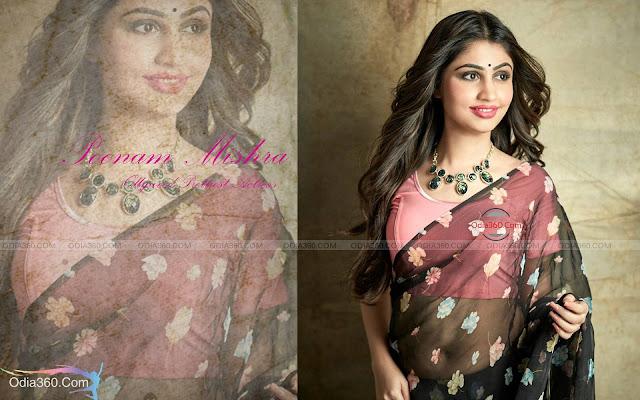 Poonam Mishra Hot in Saree Odia Actress Girl HD Wallpaper Download