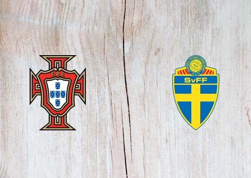 Portugal vs Sweden -Highlights 14 October 2020