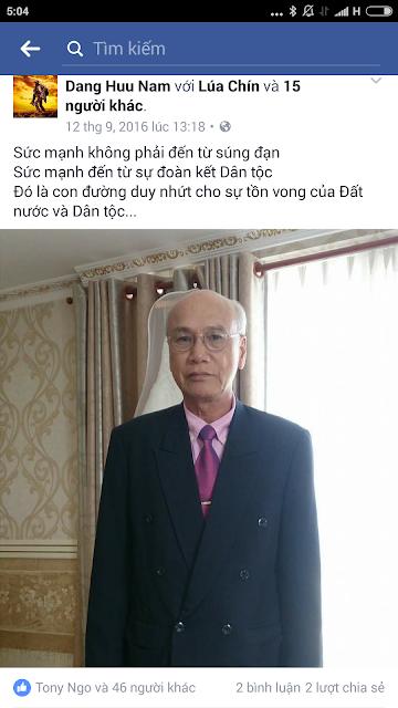 Đặng Hữu Nam - Lại thêm 1 nhà zân chủ đón Tết trong tù