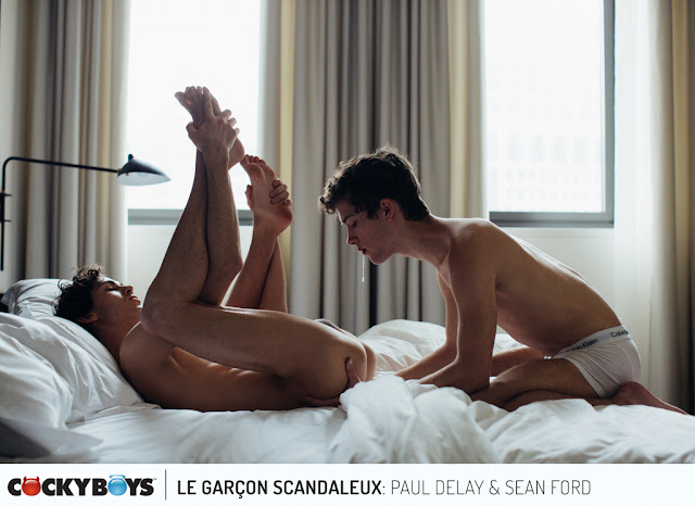 Cockyboys - Jake Jaxson Presents: Le Garçon Scandaleux  Part 5: Sean Ford & Paul Delay