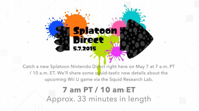 Splatoon Nintendo Direct May 7 squid-tastic new details Squid Research Lab